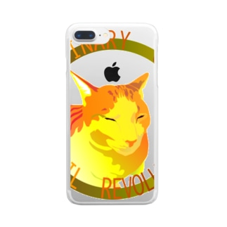 ORDINARY CATS05(秋) Clear Smartphone Case