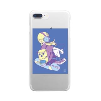 マイミュージック1 Clear smartphone cases