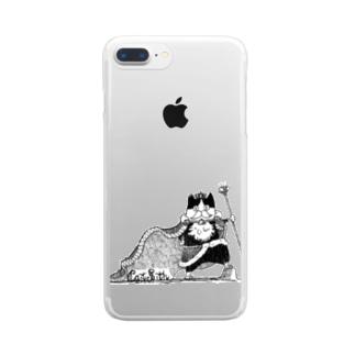 余は王様 Clear smartphone cases
