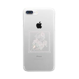 ♡らん姉オリジナルスマートフォンケース♡ Clear smartphone cases