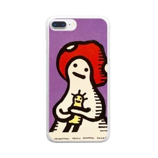 古いともだち 〜Doudou〜 Clear smartphone cases