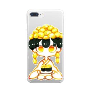 マヨコーンちゃん。 Clear smartphone cases