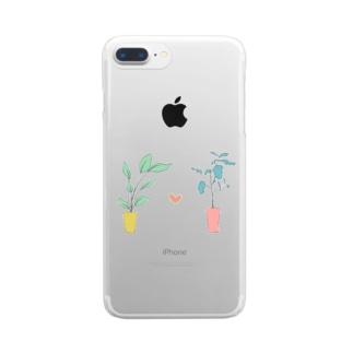 グリーンクリーン Clear smartphone cases