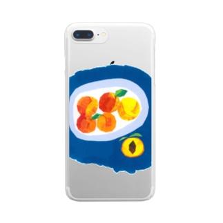 プラム Clear smartphone cases