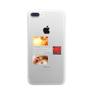 autumn Clear smartphone cases