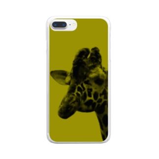 キリン Clear smartphone cases