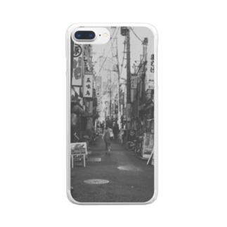 昔な感じ Clear smartphone cases
