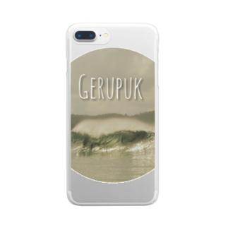 波GERUPUK Clear smartphone cases