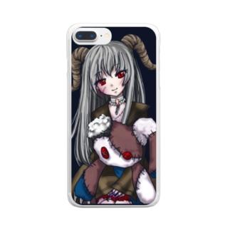 ロットモーントの悪魔っ子 Clear smartphone cases