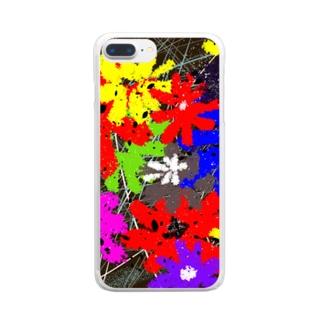 絢爛 Clear smartphone cases