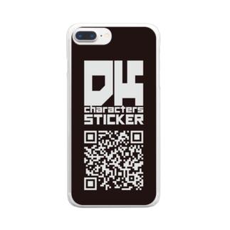DKオリジナルスマホケース Clear smartphone cases