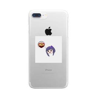 豚汁ちゃん Clear smartphone cases