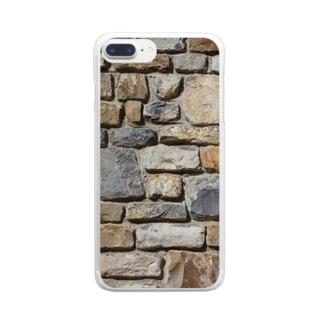 石壁 Clear smartphone cases