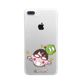 東京夜間飛行:琴子 Clear smartphone cases