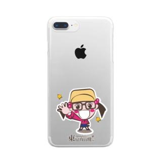 東京夜間飛行:たまび Clear smartphone cases