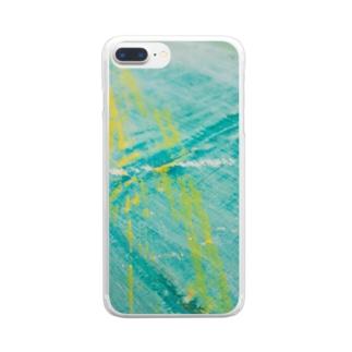 しゅわあ Clear smartphone cases