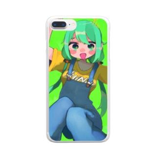 自画像 Clear smartphone cases