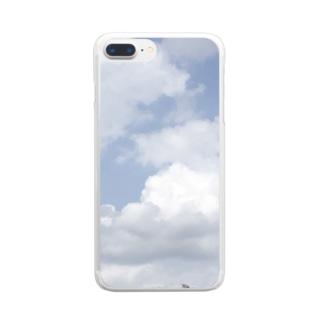 いつかの青空 Clear Smartphone Case