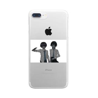 坂野と東 Clear smartphone cases