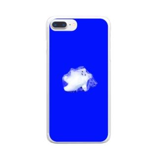 たすけてくん Clear smartphone cases