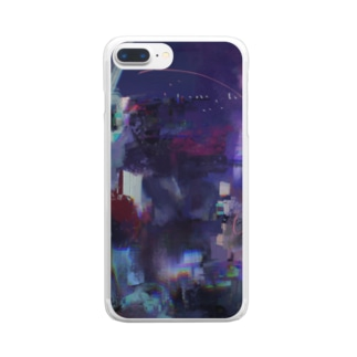 Melts with Dustyのナイトビュー〜~ Clear smartphone cases