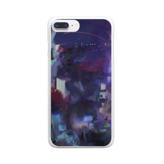 ナイトビュー〜~ Clear smartphone cases