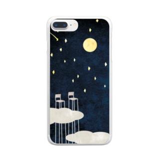 朝まで話をしよう。 Clear smartphone cases