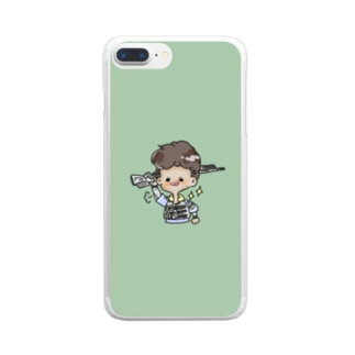💚🤍💚🤍 Clear smartphone cases