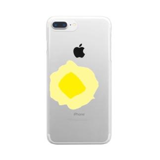 バター Clear smartphone cases