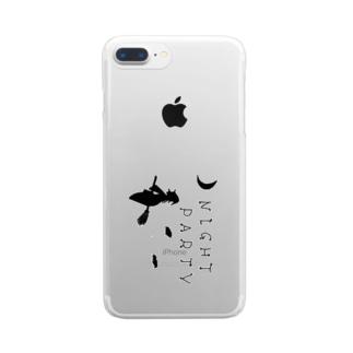 魔法使いの夜 Clear smartphone cases