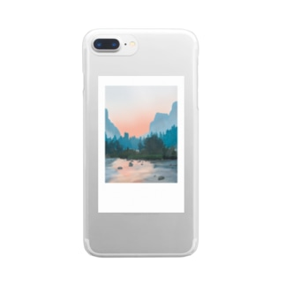 Polaroid: mountain  Clear Smartphone Case