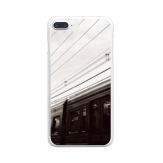京央円線② Clear smartphone cases