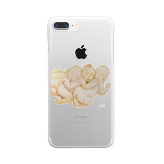 Baby Angeles 2 Clear smartphone cases