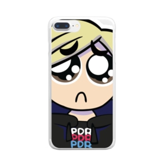 Pえんスマホケース Clear smartphone cases