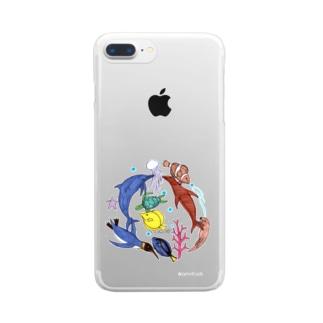 大介の水族館 Clear smartphone cases