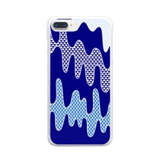 水流 Clear smartphone cases