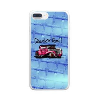 Rock'n'Roll  Clear Smartphone Case