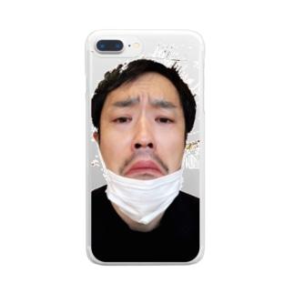 とがちゃんグッズ Clear smartphone cases