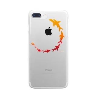飛び出すSAME BASS Clear smartphone cases