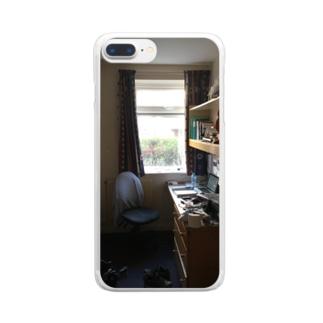 イギリスの部屋 Clear smartphone cases