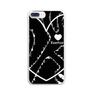 るんぺんパリ×RunPenParis Clear smartphone cases