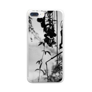 黒ガラクタ Clear smartphone cases