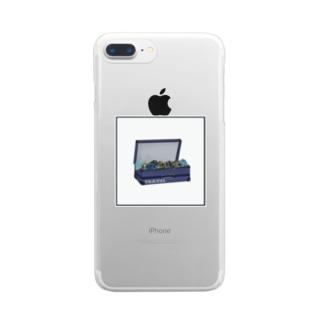 トラベル Clear smartphone cases