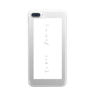yuruisekai Clear smartphone cases