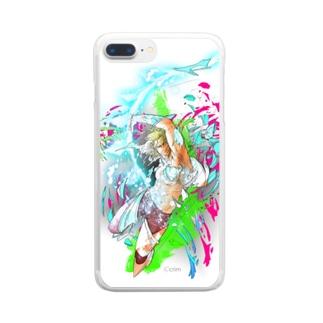 バトル イーノック Clear smartphone cases