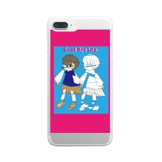 さよならJK Clear smartphone cases