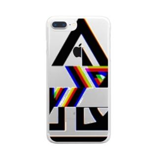喰バグ Clear smartphone cases