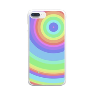 虹色 Clear smartphone cases