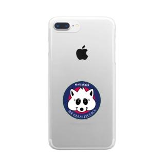 グラスペコロスグッズ#1 Clear smartphone cases