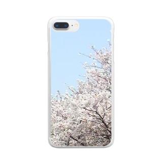 桜 Clear Smartphone Case